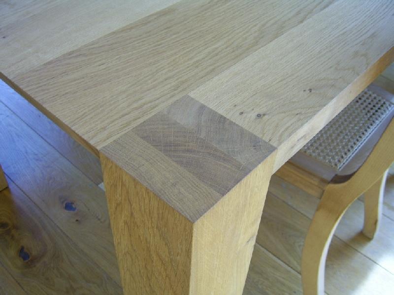 Lomba massief eiken houten design eetkamer tafel