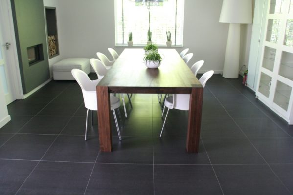 Lomba massief noten houten design eetkamer tafel