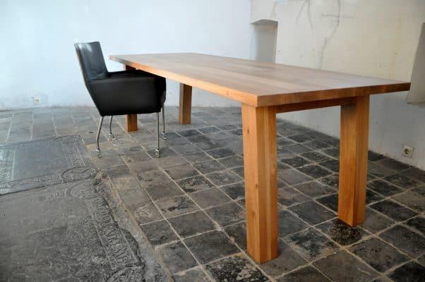 Drago massief eiken houten design eetkamer tafel