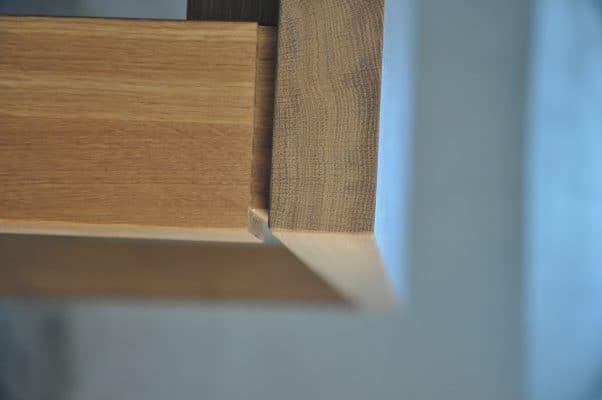 Nuance massief eiken houten design eetkamer tafel