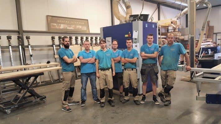 Personeel meubelmaker Friesland Artisew