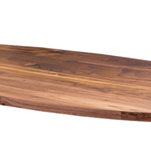Bladvorm ovaal noten tafel meubelmaker burgum friesland