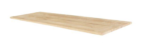 Recht eiken houten eikenhouten tafel blad tafelblad los meubelmaker burgum friesland