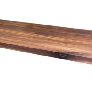 recht noten houten walnoten tafel blad tafelblad los