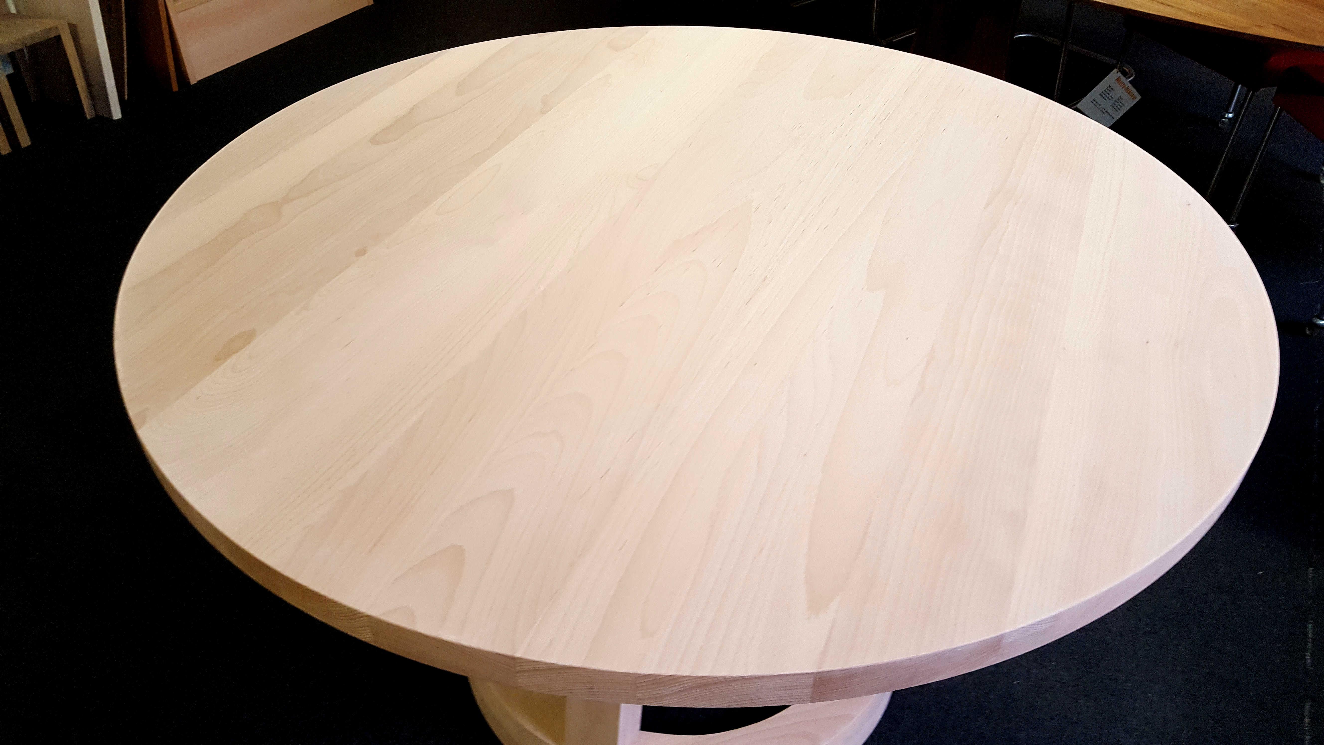 Houten Keukens Aanbieding : Aanbieding! ronde massief beukenhouten tafel artisew design