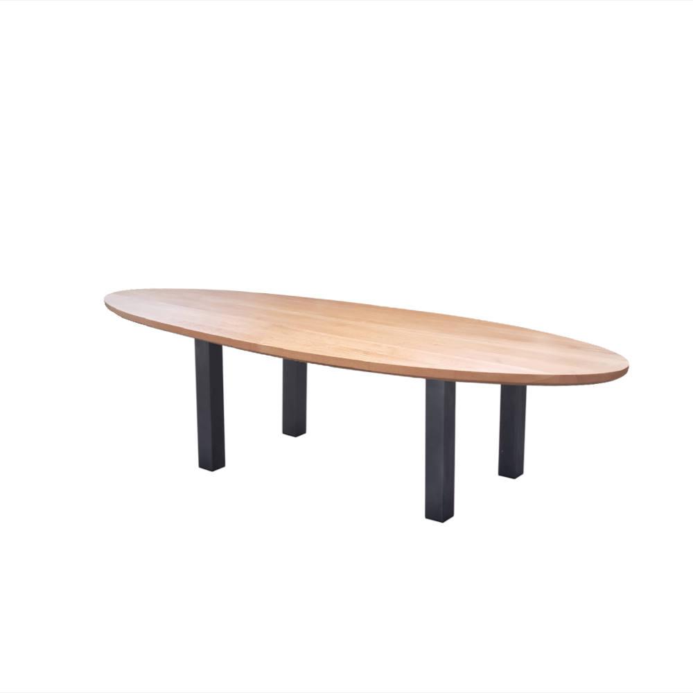 Industriele Tafel Eettafel.Harm Beuken Ovaal Artisew Design